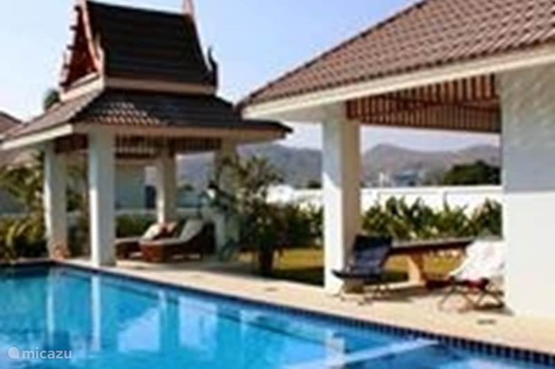 Luxe 3 slaapkamer pool villa in Hua Hin, Centraal-Thailand huren ...