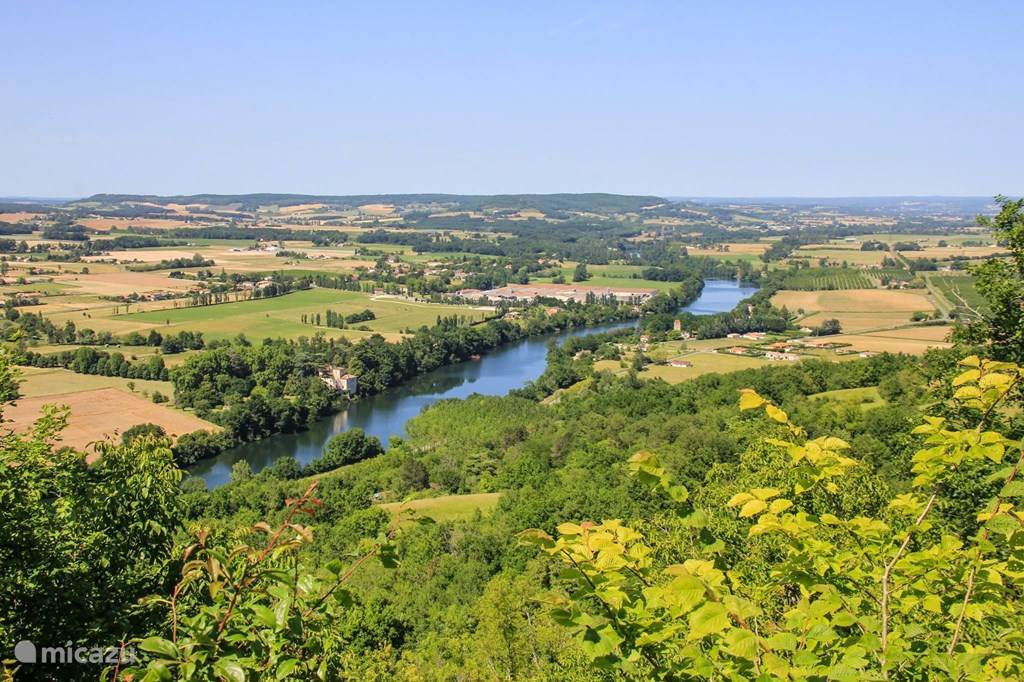 De rivier de Lot