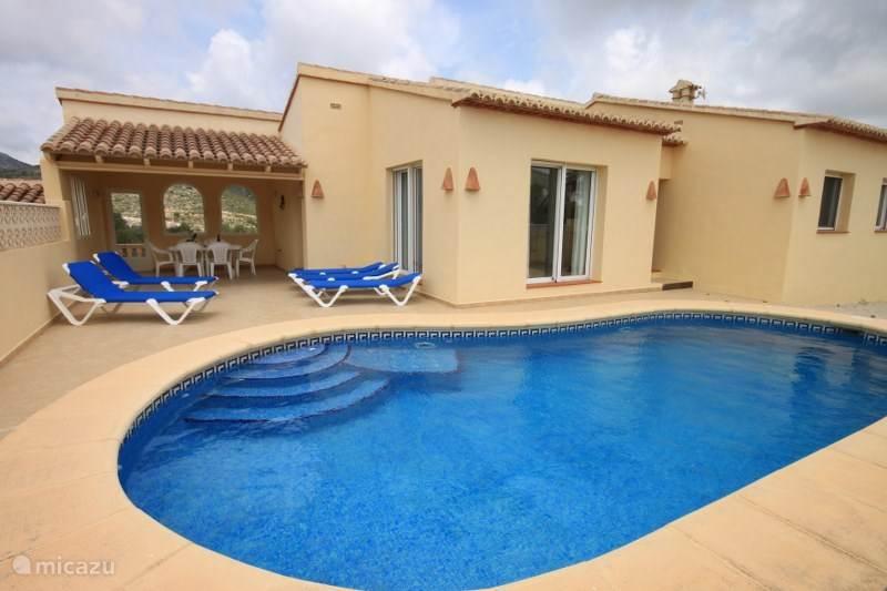 Vacation rental Spain, Costa Blanca, Benitachell villa Casa Los Molinos