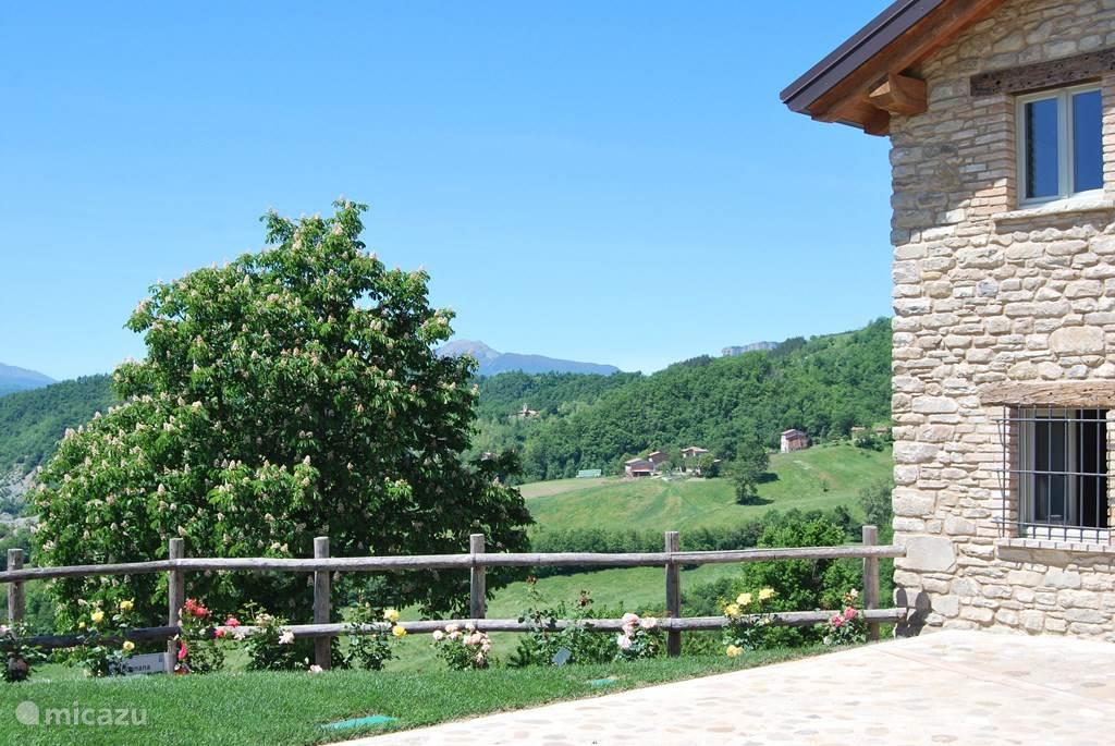 Uitzicht vanuit CasaValle