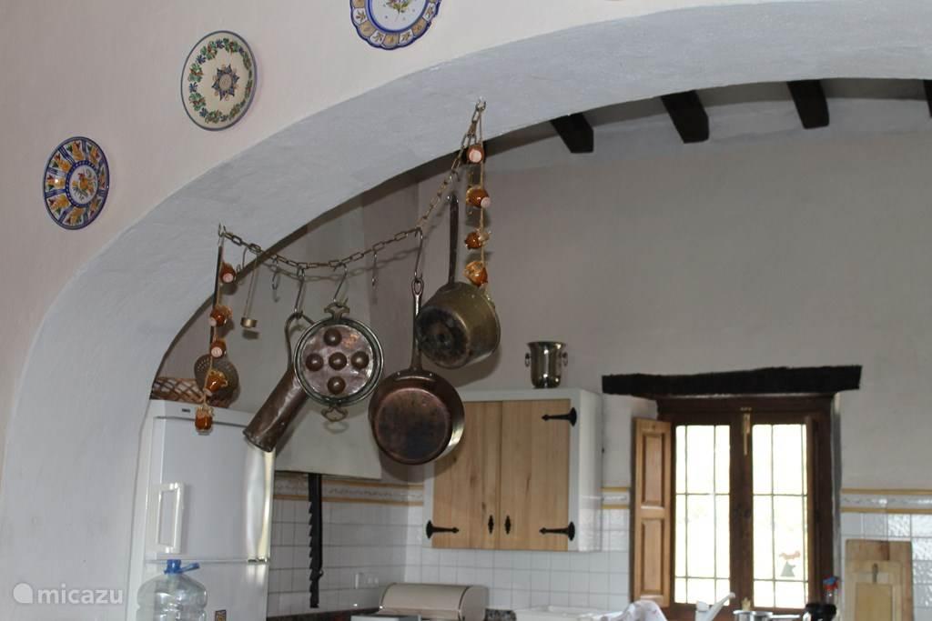 De keuken met authentieke sfeer