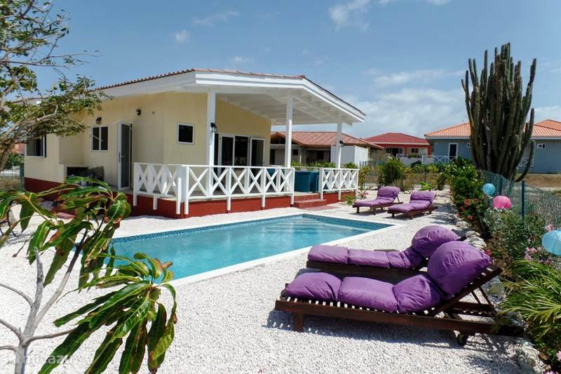 Vacation rental Curaçao, Banda Abou (West), Fontein Villa Casa Mariposa with swimming pool
