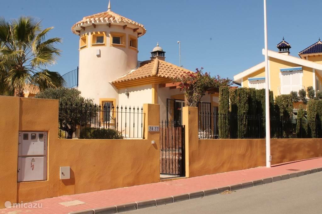 Vakantiehuis Spanje, Costa Cálida, Mazarrón vakantiehuis Casa Buena Vida