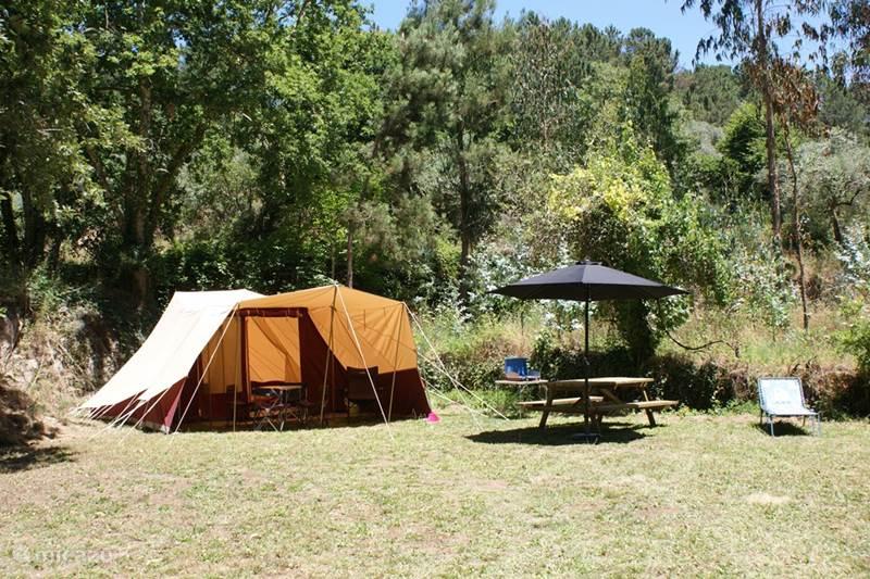 Vakantiehuis Portugal, Beiras, Covas Glamping / Safaritent / Yurt Chapado/Quinta do Retiro ***