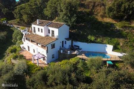 Vakantiehuis Spanje, Andalusië, Casares finca Casa Nicola