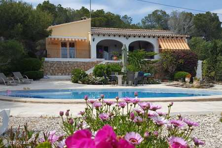 Vakantiehuis Spanje, Costa Blanca, Benissa villa Los pinastros villa met zeezicht