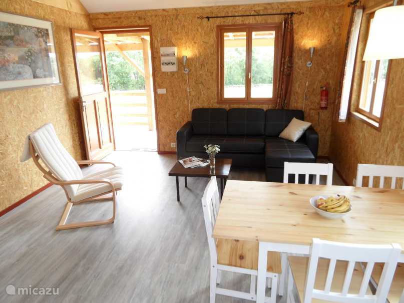 Vakantiehuis Frankrijk, Nièvre, Marigny-sur-Yonne Chalet Huisje 1