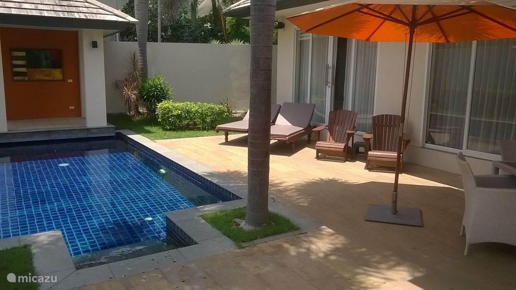 Vakantiehuis Thailand, Ko Samui, Suratthani Villa 5 Islands Beach Villa @ Lipa Noi