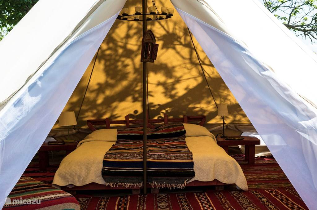 Vakantiehuis Italië, Toscane, Santa Fiora Glamping / Safaritent / Yurt Glamping tent
