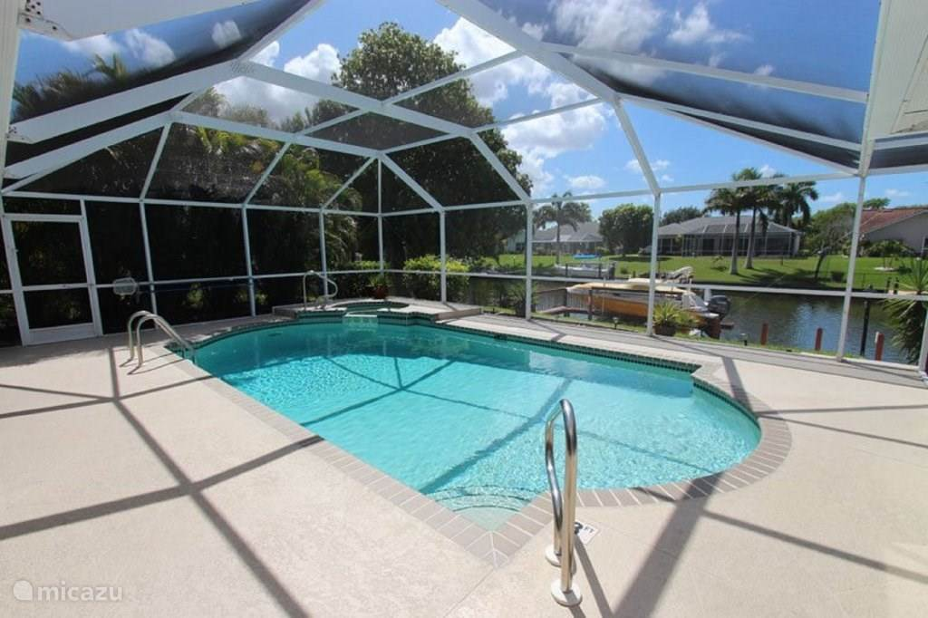 Vakantiehuis Verenigde Staten, Florida, Cape Coral Villa Villa Happy Flipper