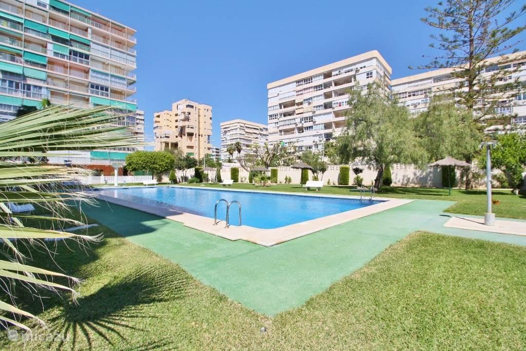 Vakantiehuis Spanje, Costa Blanca, San Juan de Alicante appartement Zwembad /Strand /Zon /Zee v.a € 39,-