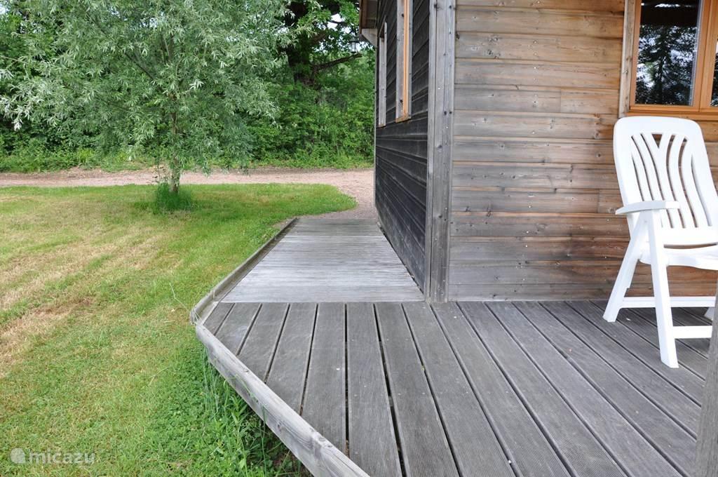 Vakantiehuis Frankrijk, Bourgogne, Marigny-sur-Yonne Chalet Huisje 2 - rolstoelaangepast