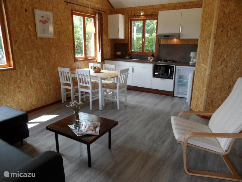 Vakantiehuis Frankrijk, Nièvre, Marigny-sur-Yonne Chalet Huisje 2 - rolstoelaangepast