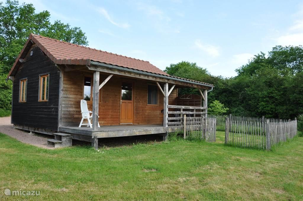 Vakantiehuis Frankrijk, Bourgogne, Marigny-sur-Yonne chalet Huisje 4 - Huisdiertoegankelijk
