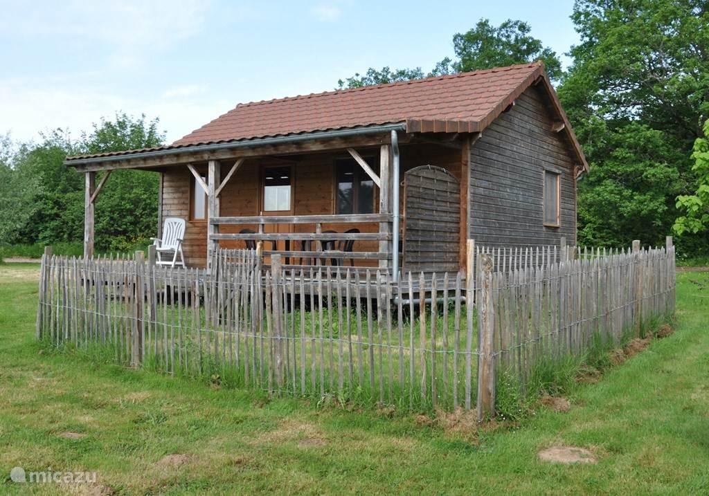 Vakantiehuis Frankrijk, Nièvre, Marigny-sur-Yonne Chalet Huisje 4 - Huisdiertoegankelijk