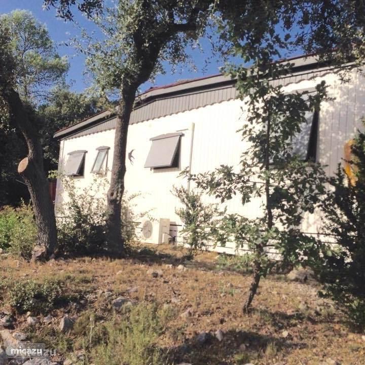 Vacation rental France, Languedoc-Roussillon, Vacquières - mobile home Maison les Masandré