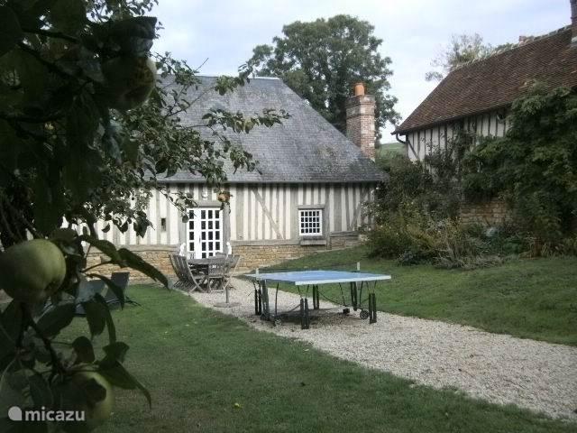 Vakantiehuis Frankrijk, Normandië, Crouttes gîte / cottage Knus huizeke in mysterieus normandie
