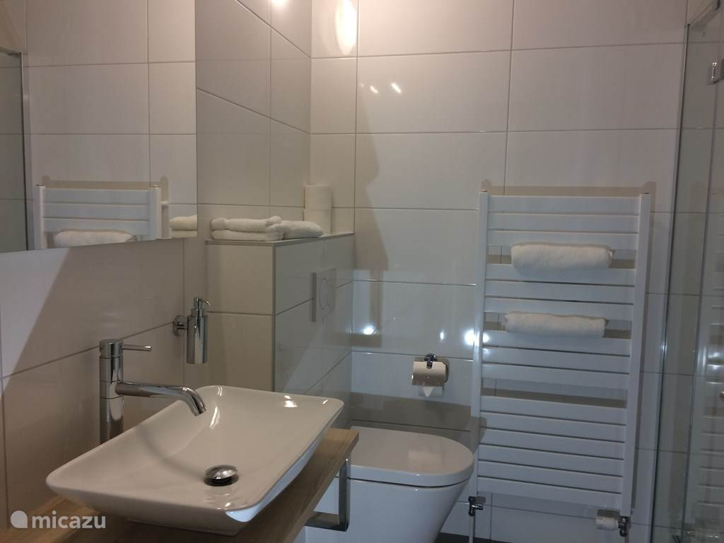 iedere kamer een eigen luxe badkamer