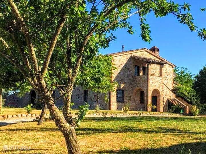 Vakantiehuis Italië, Umbrië, Citta Della Pieve appartement Pian della Bandina Castagno
