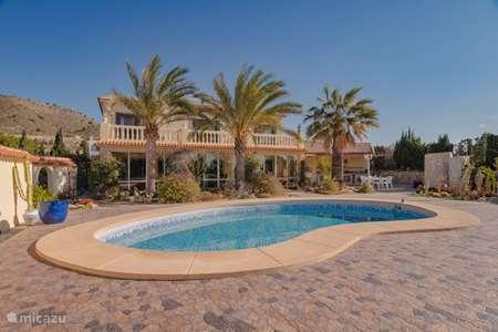 Vakantiehuis Spanje, Costa Blanca, Villajoyosa villa Luxe Villa Las Brujas de la Suerte