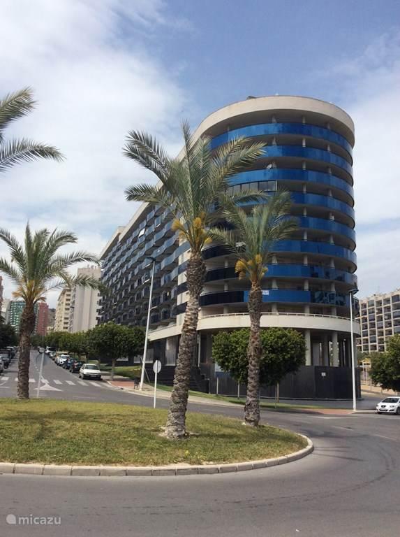 Vakantiehuis Spanje, Costa Blanca, Benidorm appartement Edificio Sidney