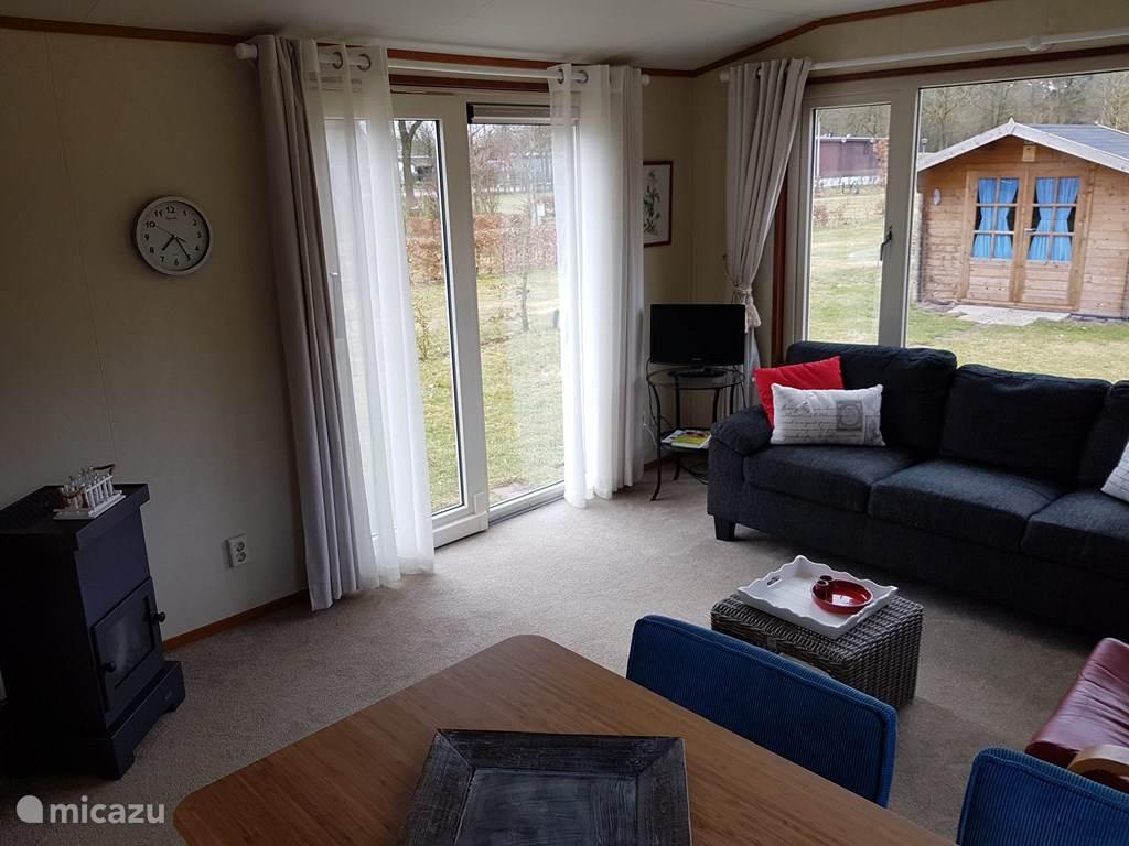 Vakantiehuis Nederland, Drenthe, Meppen Vakantiehuis Chalet 'de Bosrand'