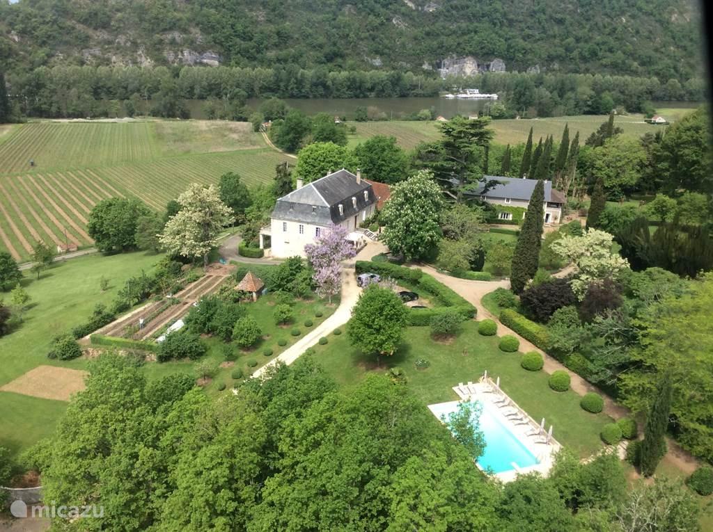 Vakantiehuis Frankrijk, Lot, Luzech Vakantiehuis Le Peyrou Gastenverblijf