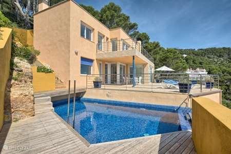 Vacation rental Spain, Costa Brava, Begur villa Villa Eva