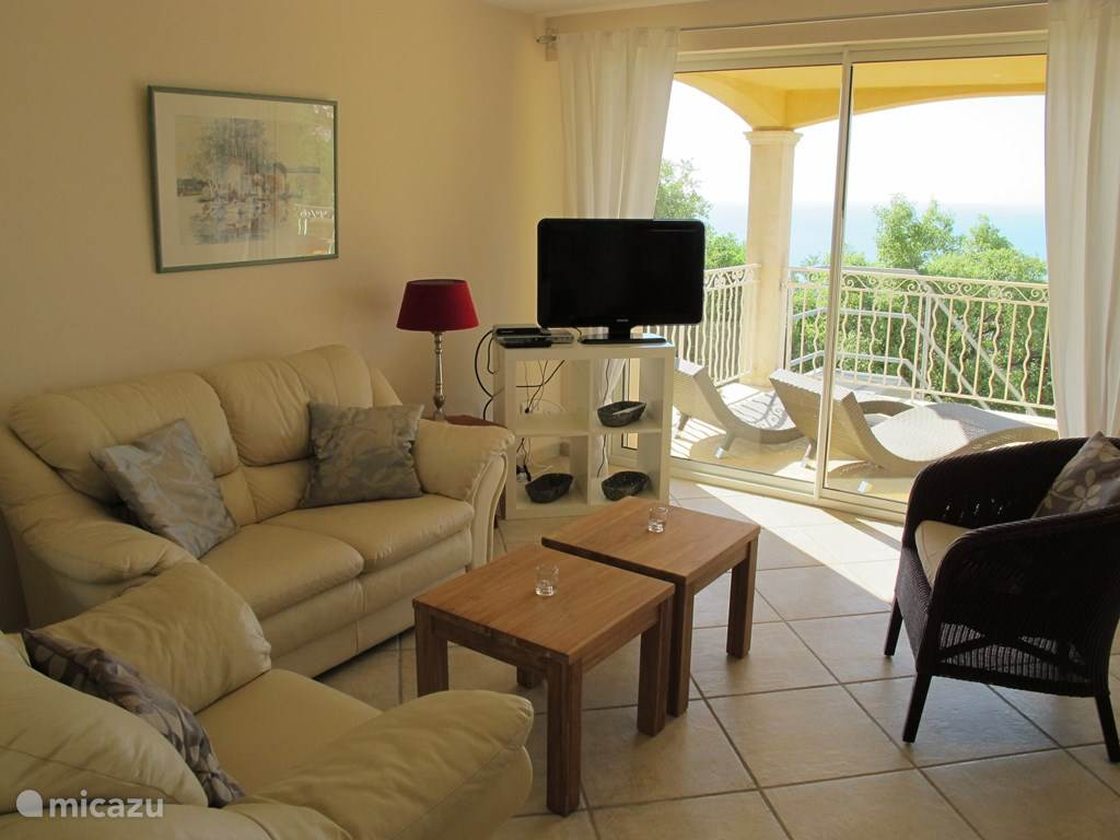 Woonkamer appartement St. Maxime