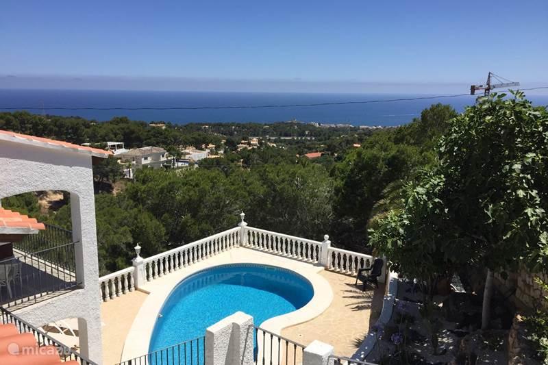 Vacation rental Spain, Costa Blanca, Altea Holiday house Villa Altea
