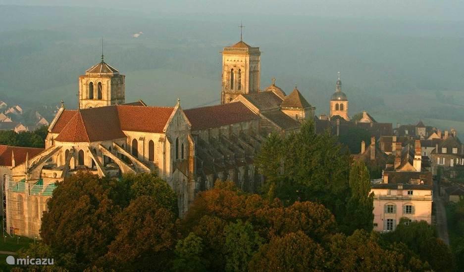 Het middeleeuwse stadje Vézelay