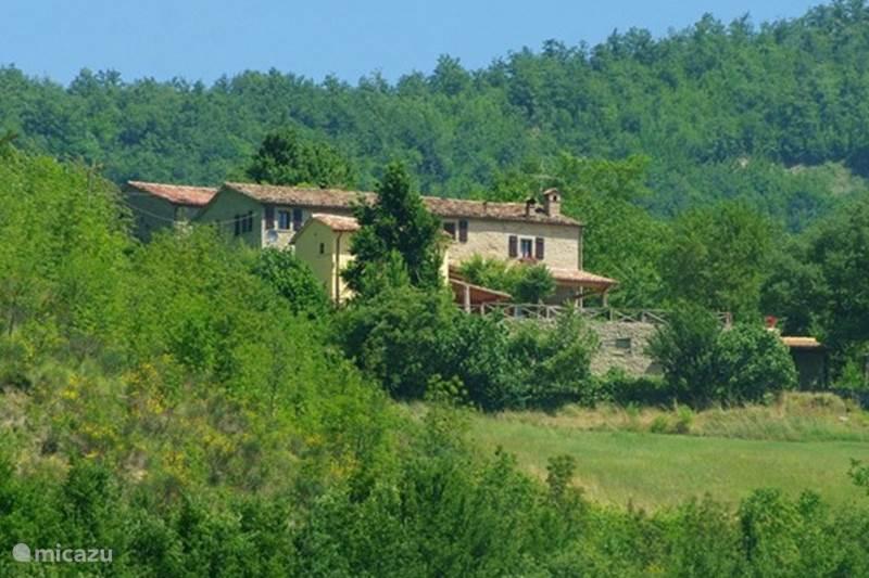 Vakantiehuis Italië, Marche, Mercatello sul Metauro Bed & Breakfast Ca'Betania Camera Uno