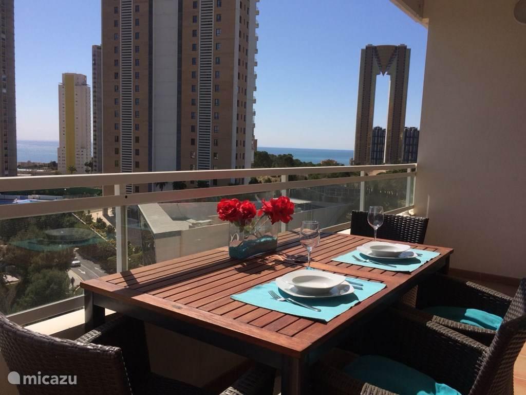 Vakantiehuis Spanje, Costa Blanca, Benidorm appartement Zonnig appartement in Benidorm