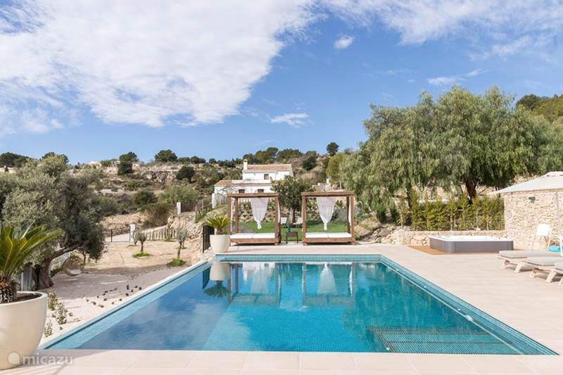 Vacation rental Spain, Costa Blanca, Benissa Finca Finca 'Pie Plano'