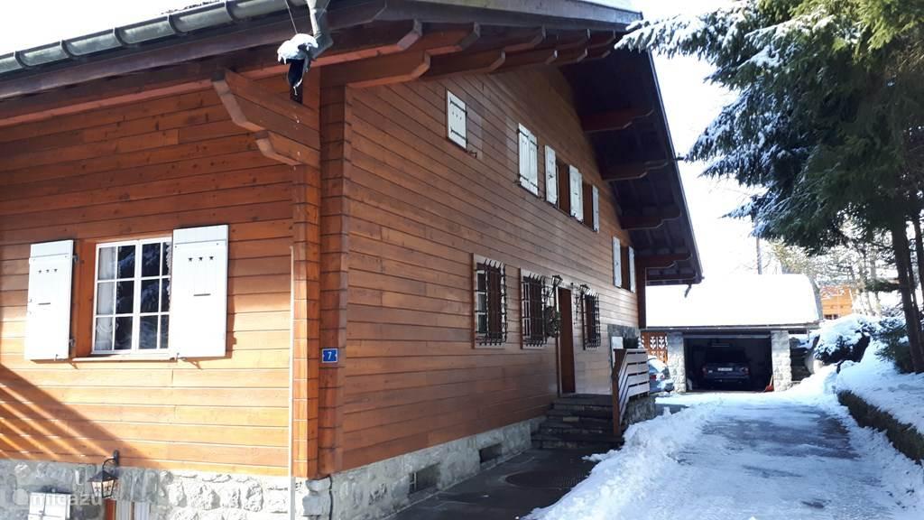 Vakantiehuis Zwitserland, Vaud, Gryon/Villars Sur Ollon Chalet Chalet Asteri