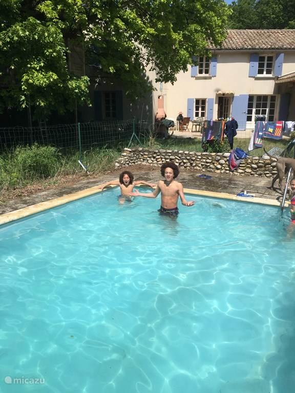 Vakantiehuis Frankrijk, Provence, Saint-Roman-de-Malegarde gîte / cottage Le Grillon Bleu
