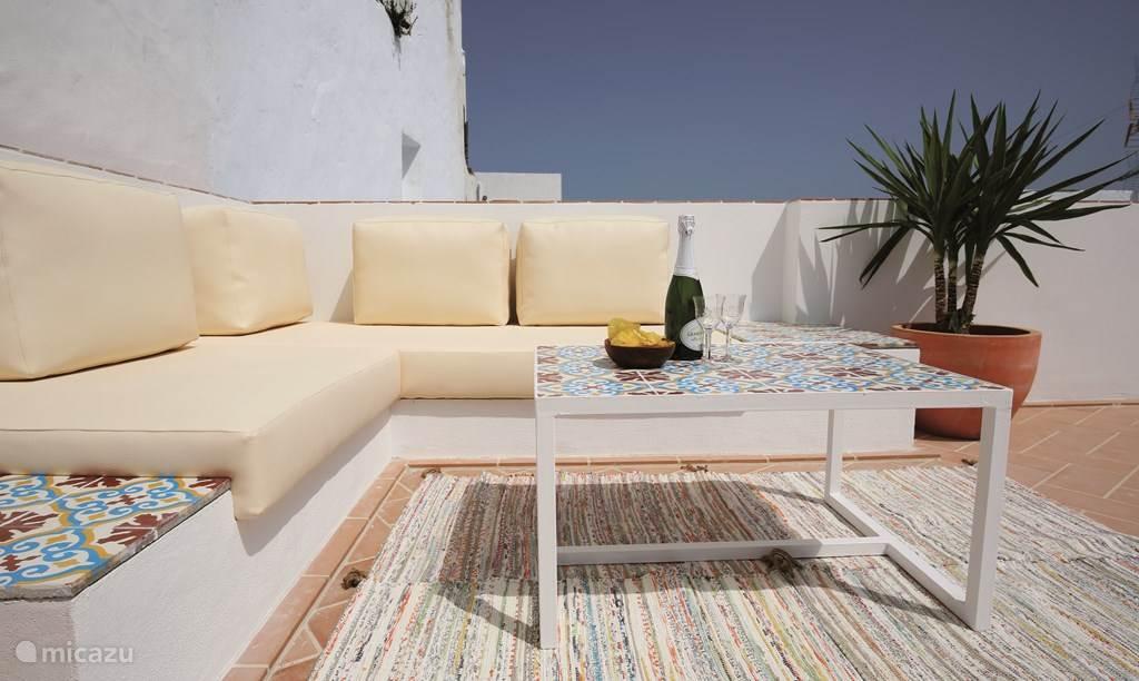 Vakantiehuis Spanje, Andalusië, Vejer de la Frontera Geschakelde woning Vejerísimo volledig huis