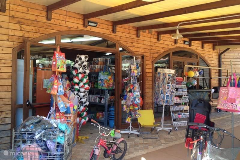 Bazar op de camping