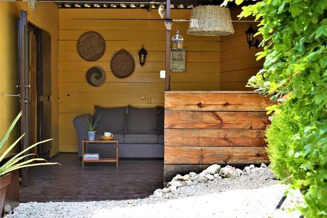 Vakantiehuis Curaçao, Banda Abou (west), Sint Willibrordus - studio Outdoor Studio Jan Kok Lodges