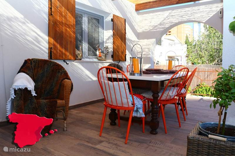 Vakantiehuis Spanje, Costa Blanca, Benidorm Villa Casa Fay is een verborgen juweel