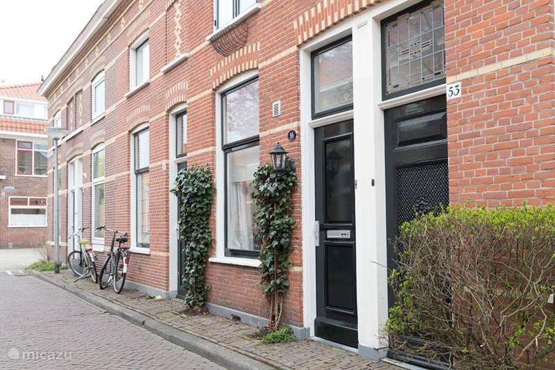 Vakantiehuis Nederland, Zuid-Holland, Delft Stadswoning Vermeerhuisje