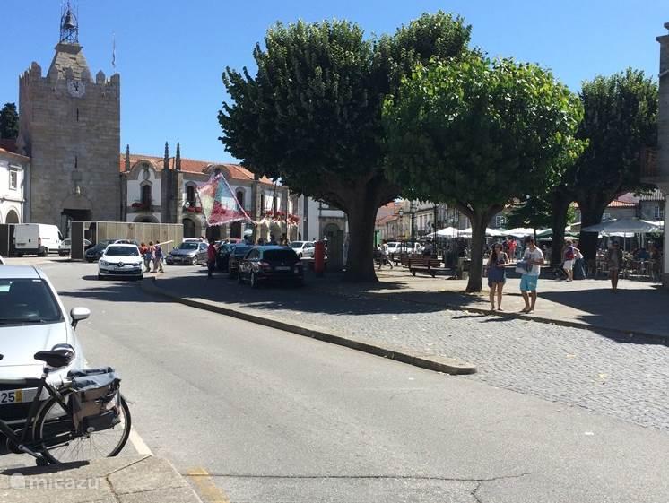 Caminha centrum