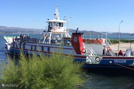 Met de ferry naar Spanje