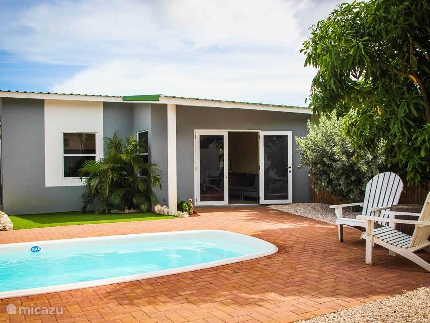 Vakantiehuis Curaçao, Banda Ariba (oost), Brakkeput Abou vakantiehuis Kabritu View