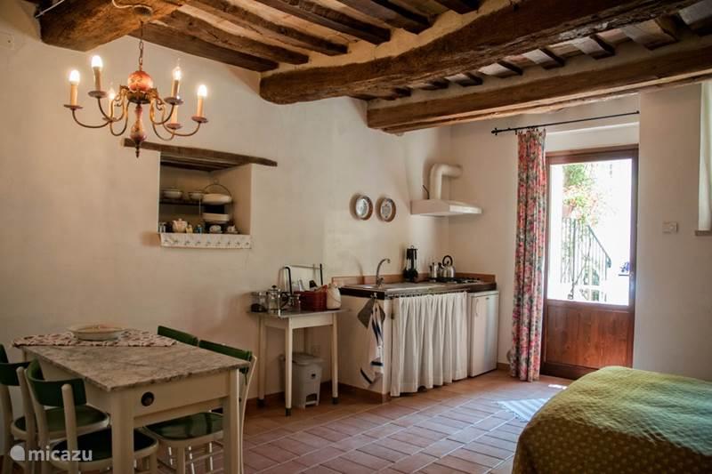 Vakantiehuis Italië, Marche, Arcevia Appartement Mimosa