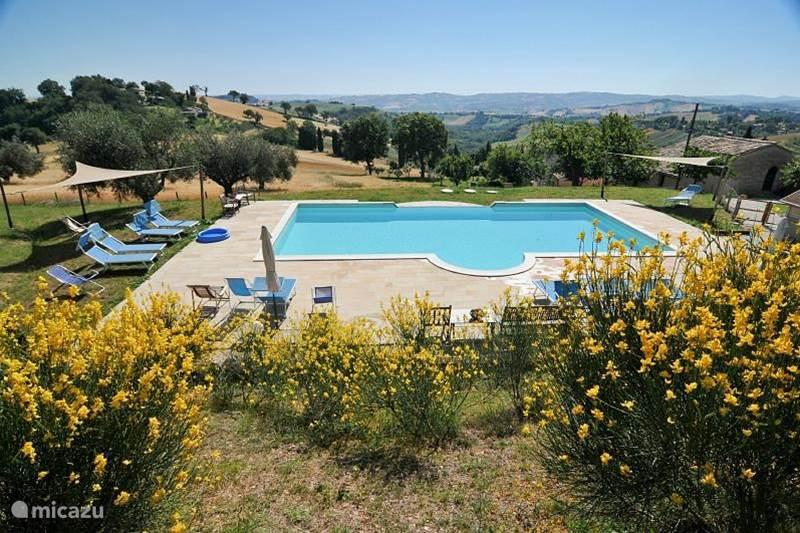 Vakantiehuis Italië, Marche, Arcevia Appartement Gelsomino