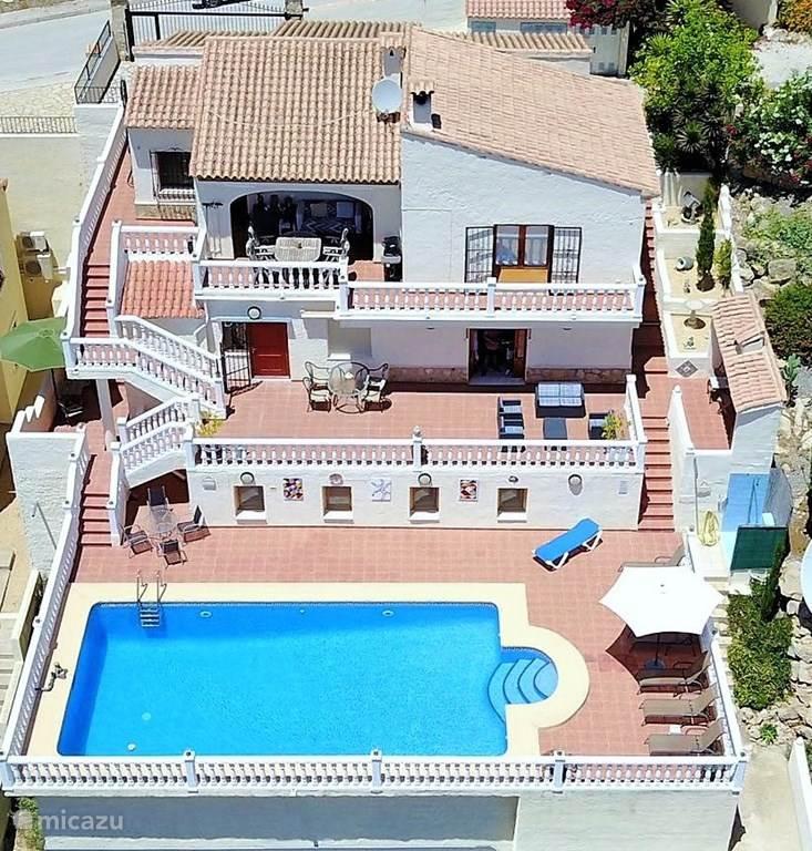Vacation rental Spain, Costa Blanca – villa Casa gran vista