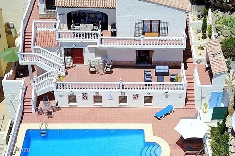 Vakantiehuis Spanje, Costa Blanca, Jalón Villa Casa Gran Vista