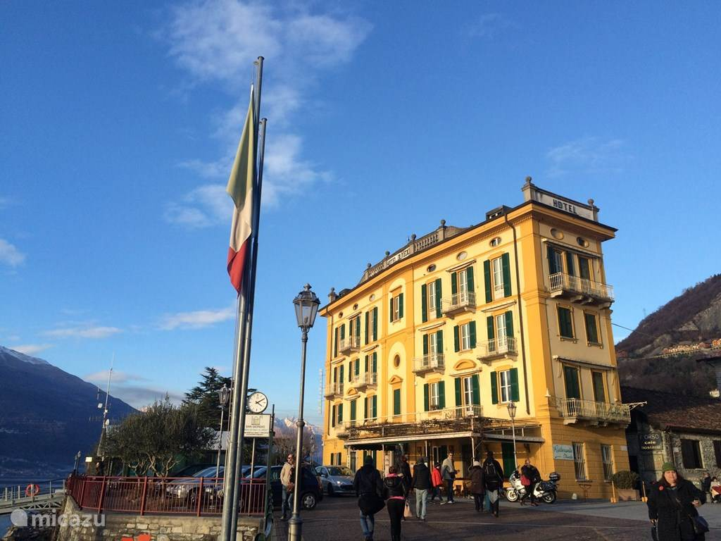 Hotel Olivedo in Varenna.
