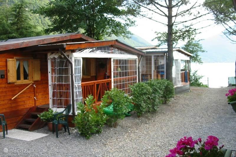Vakantiehuis Italië, Italiaanse Meren, Porlezza Chalet Casaporlezza Chalets Chalet 1